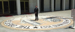 Cody Byrd in Raleigh NC on the NC State Seal