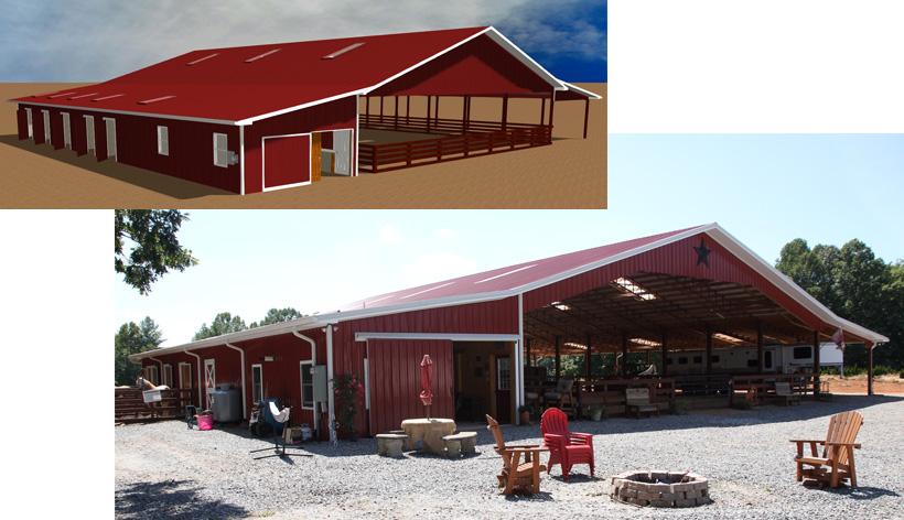 Amazing equestrian center design build in caldwell for Building design blog